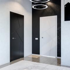 Двері міжкімнатні білі Fado Париж 1703