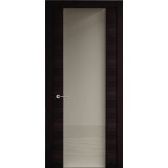 Міжкімнатні двері Rodos Flat скло (Екошпон)
