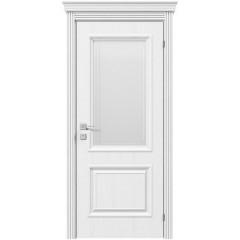 Двері міжкімнатні білі фарбовані Омега Рим ПО