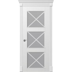 Двері міжкімнатні білі фарбовані Омега Рим Венеціано ПОО