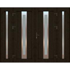 Міжкімнатні соснові двері Севілія скло