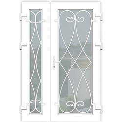 Вхідні двері металопластикові kr 05
