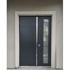 Двері вхідні з фанерними накладками KF Преміум 3