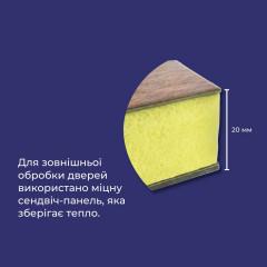 Двері вхідні Термопласт Vinorit 210