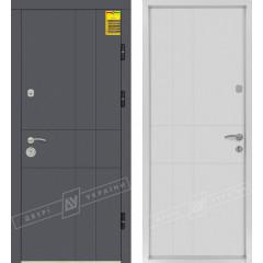 Розсувні двері Корфад з дзеркалом