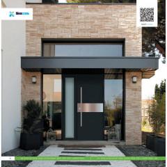 Двері вхідні з фанерними накладками KF Преміум 12