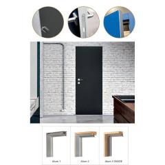 Двері вхідні з фанерними накладками KF Преміум 7