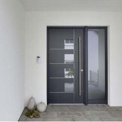 Двері вхідні з фанерними накладками KF Преміум 2