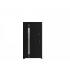 Вхідні двері з фареними накладками PS Aura Line (DEC) Патріот