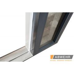 Вхідні двері Rodos Steel Standart Street STS 009 з фанерними накладками