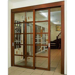 Розсувні двері шпоновані 85