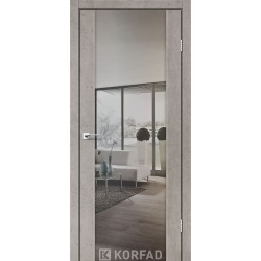 Міжкімнатні двері Корфад SR-03 дзеркало триплекс (Екошпон)