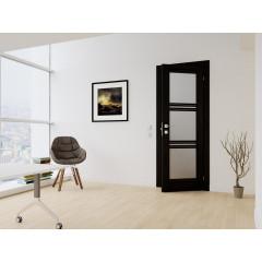 Вхідні двері з фанерними накладками Rodos Steel Standart F129