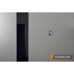 Двері вхідні з фанерними накладками F129 Rodos Steel Standart-S