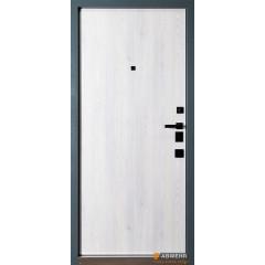 Двері Страж в будинок Proof Standart Mottura Giada E антрацит -білий