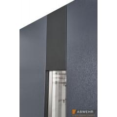 Двері Страж в будинок Proof Standart Giada D/Соло ND антрацит/ білий Vin