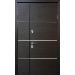 Двері Страж в будинок Proof Standart 1.5 Party D Double венге темний