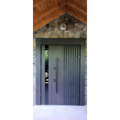 Двері в інтер'єрі вхідні в будинок