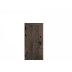 Вхідні двері Портала Алюма 2 / Лайн 4 сірий софтач