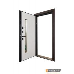 Двері Страж в будинок Proof Standart Rio SL горіх натуральний
