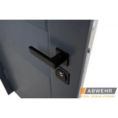 Вхідні двері фасадні протизламні LP 006 STEEL-LAMPRE-PANEL
