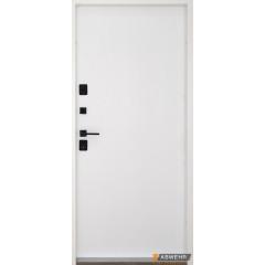 Вхідні двері фасадні протизламні LP 008 STEEL-LAMPRE-PANEL